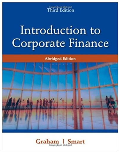 Introduction to Corporate Finance What Companies Do