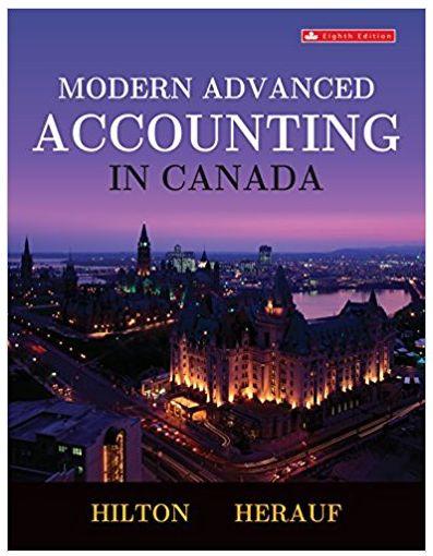 Modern Advanced Accounting in Canada