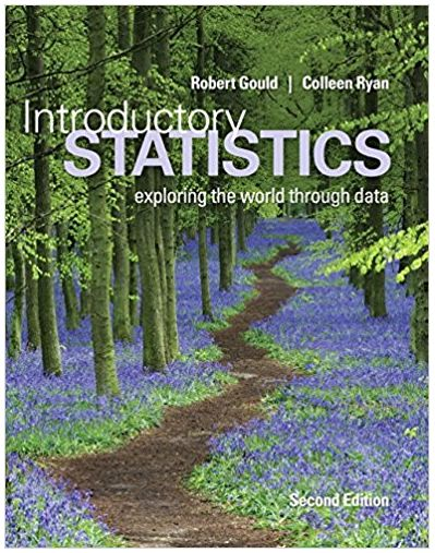 Introductory Statistics Exploring the World Through Data