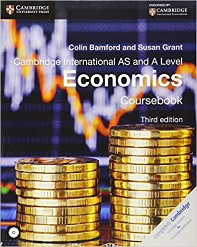 Cambridge International AS And A Level Economics Coursebook
