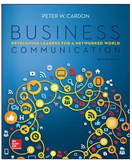Business Communication Developing Leaders for a Networked World