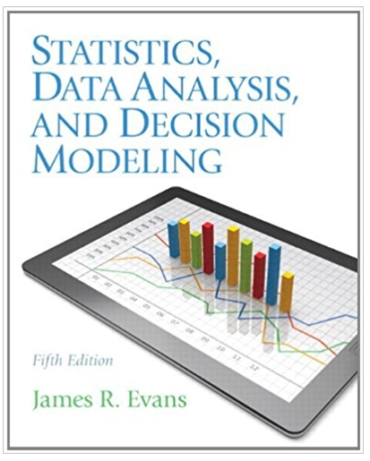 Statistics Data Analysis and Decision Modeling