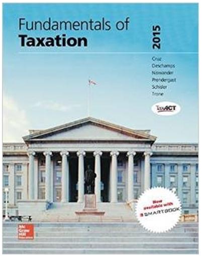 Fundamentals of Taxation 2015