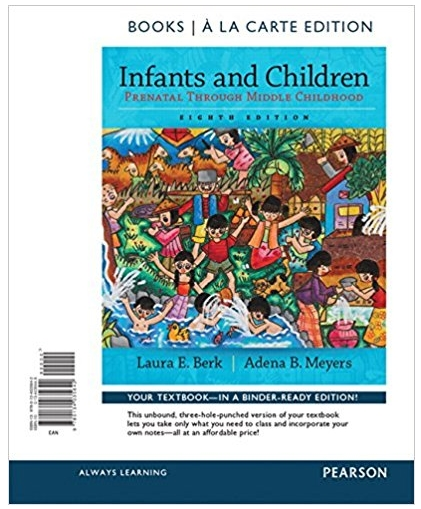 Infants and Children Prenatal through Middle Childhood