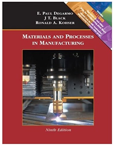 Materials and process in manufacturing