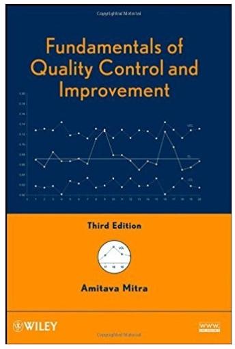 Fundamentals of quality control and improvement