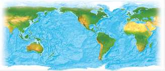 The average depth of the Pacific Ocean is 14,040 ft.