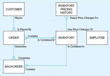 Create an enterprise data model that captures the data needs