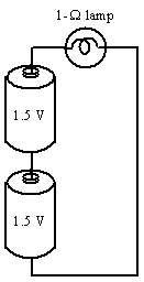 1-Ω lamp 15 V 1.3 V