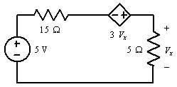15 Ω 5 V