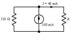 1=40mA 510 Ω 100 mA
