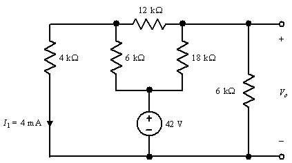 12 kΩ 18 kΩ 11 = 4 mA 42 W