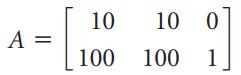 10 10 0 A = 100 100