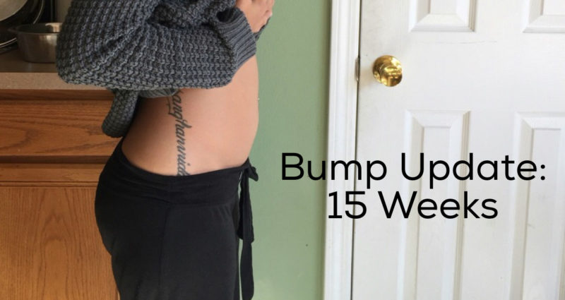 Pregnancy 15 Weeks Bump Update Diary Of A Fit Mommy