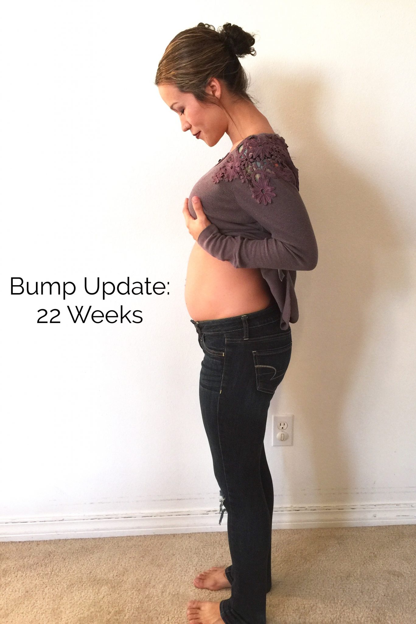PREGNANCY: 22 Weeks Bump Update - Diary of a Fit Mommy22 Weeks Fetus Size Of Coconut