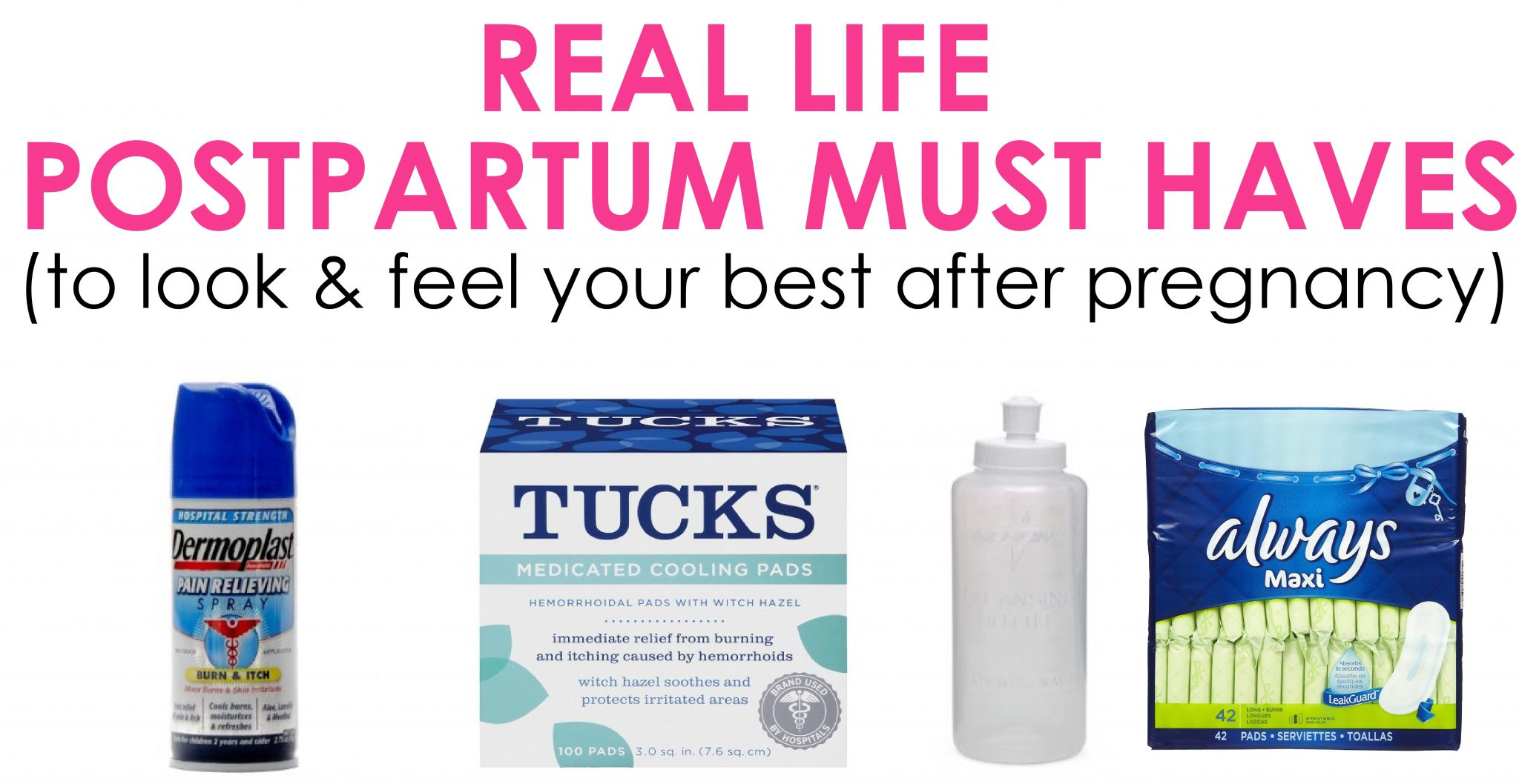 Postpartum Must Haves To Feel Look Your Best After Pregnancy