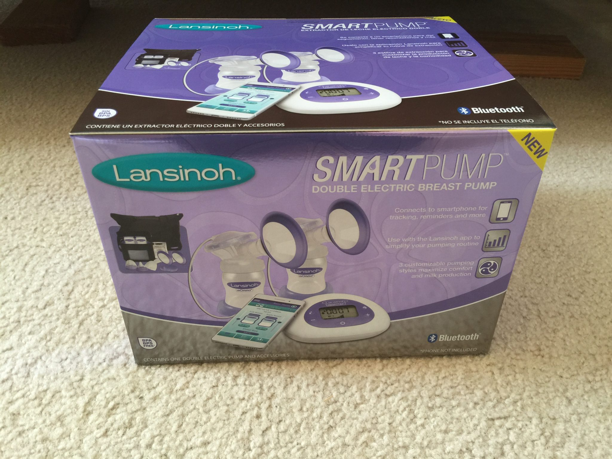 Lansinoh Smartpump Review Giveaway Diary Of A Fit Mommy