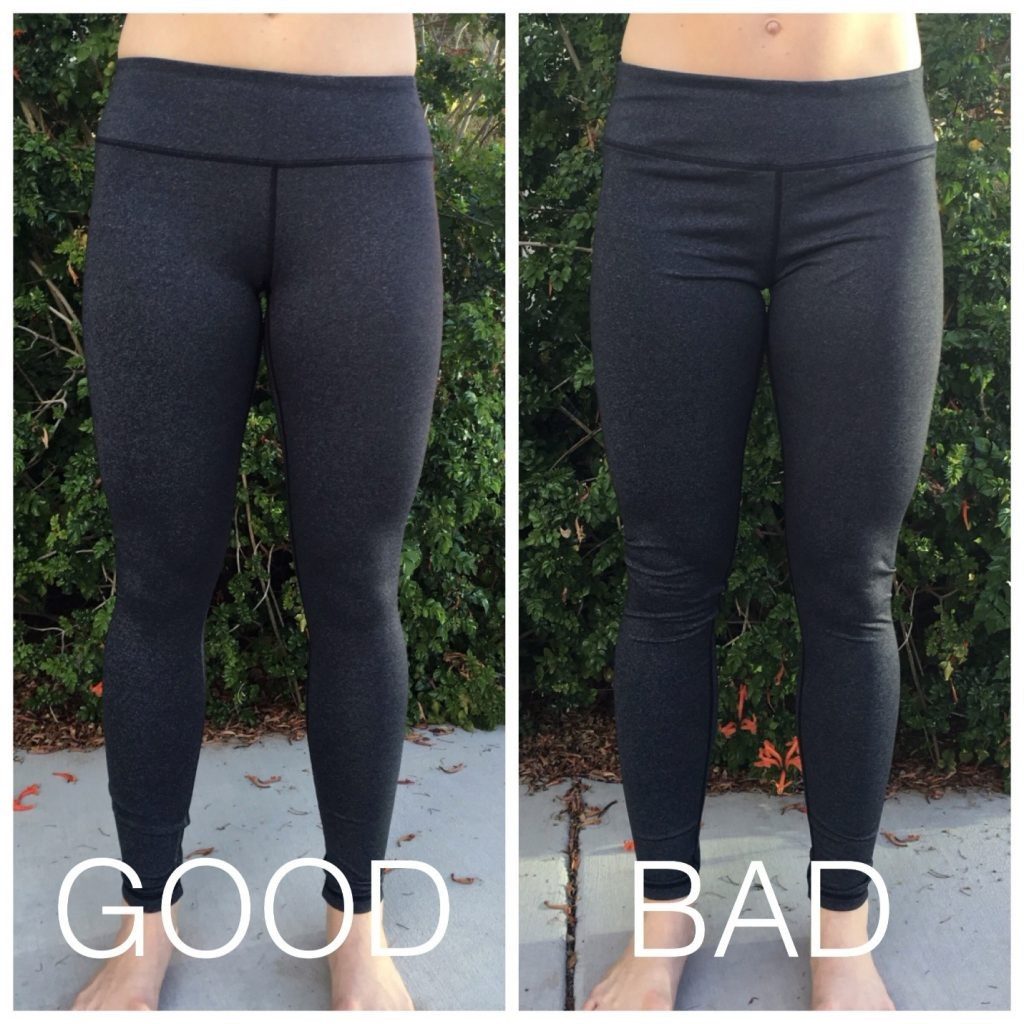 5 Signs Your Workout Pants Are The Wrong Size