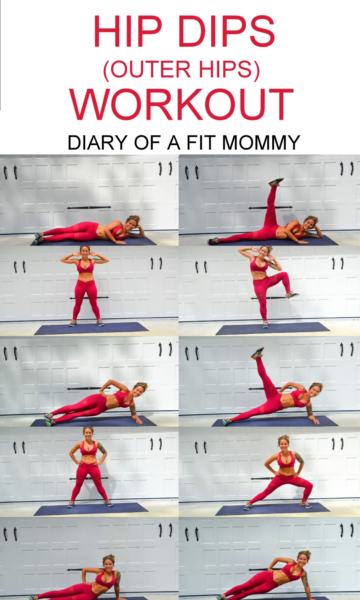 Hip Dips Workout Exercises To Build Your Hip Muscles Diary Of A