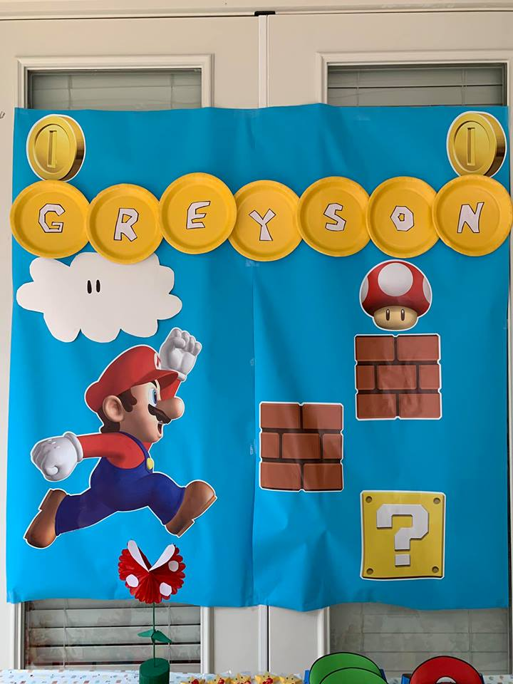 Greyson's Super Mario Theme 5th Birthday Party - Diary of a Fit Mommy