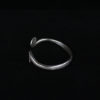 Sterling Silver Spiral Bangle - Infinity Curl