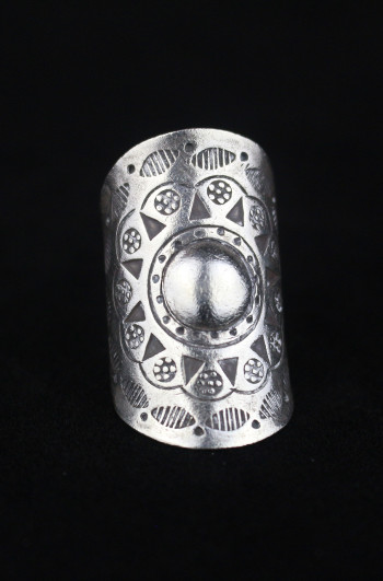 Hill Tribe Silver Wrap Ring
