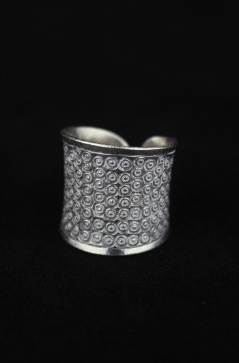 Lana Grooves Fine Silver Ring