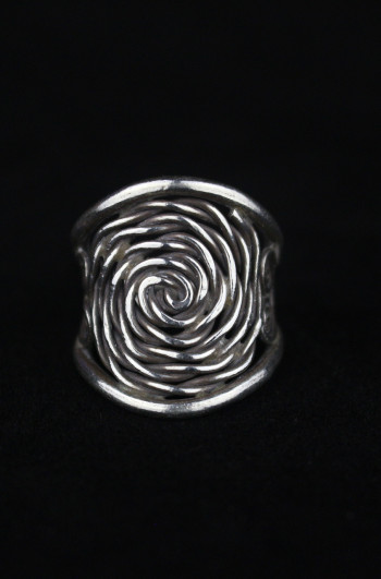 Artisan Silver Spiral Enigma Ring
