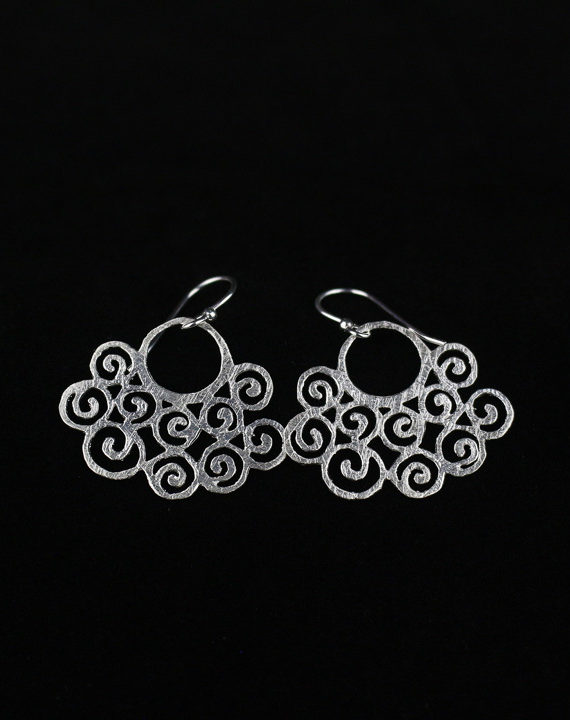 Silver Statement Earrings for Women