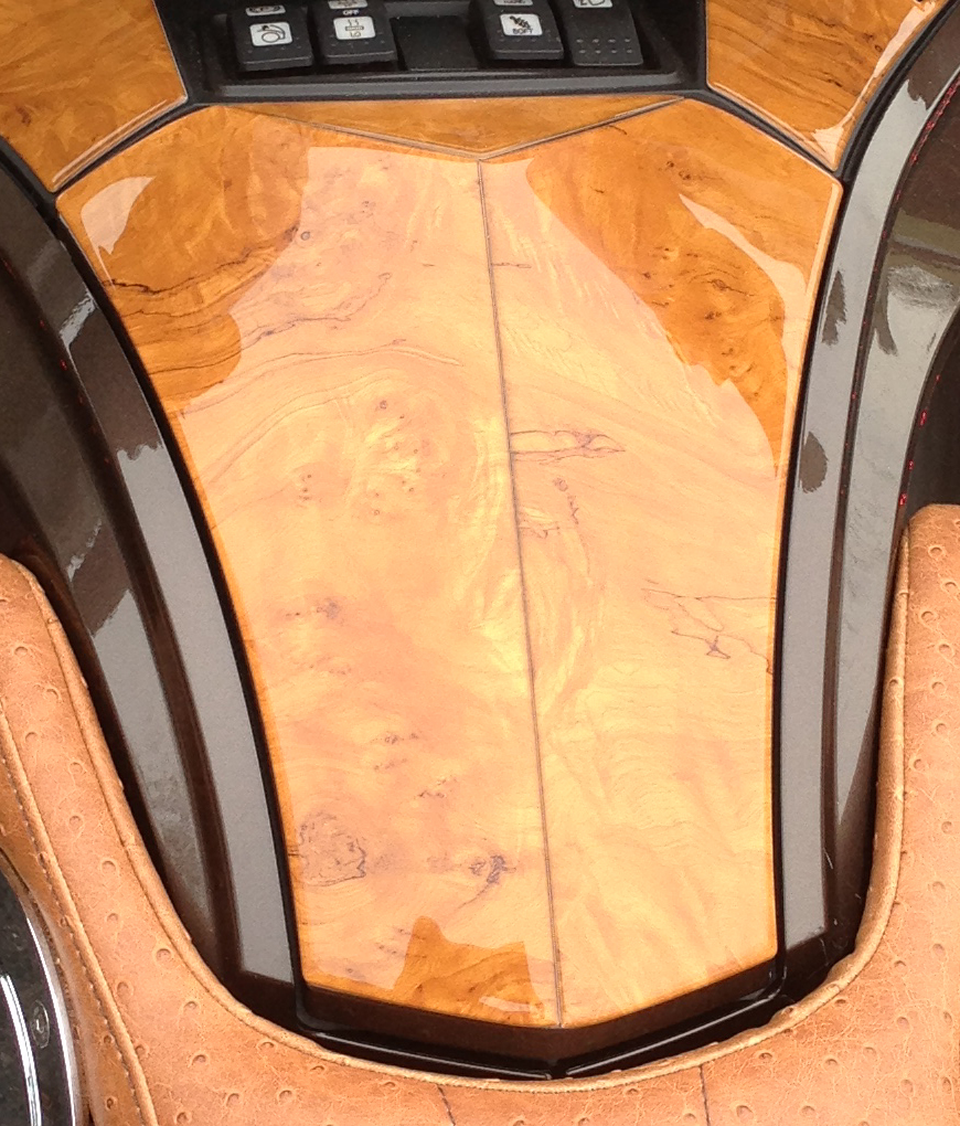 Honey Burl Wood Grain Dash kit