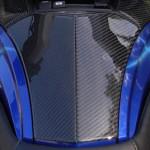 Real Carbon Fiber Spyder RT 3 piece glove box