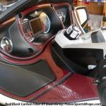 Red Black Real Carbon Fiber Dash Kit for Spyders