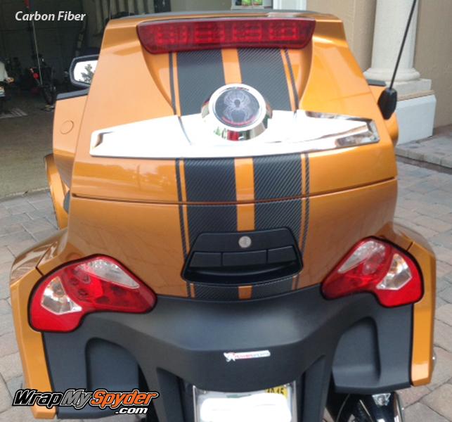 GT Racing stripes on RT rear trunk