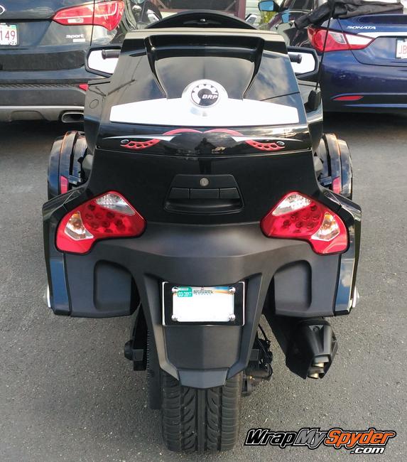 Cosmos Red RT graphics kit rear