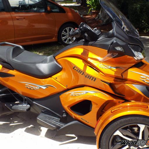 Cosmos Orange tone Spyder ST side panels