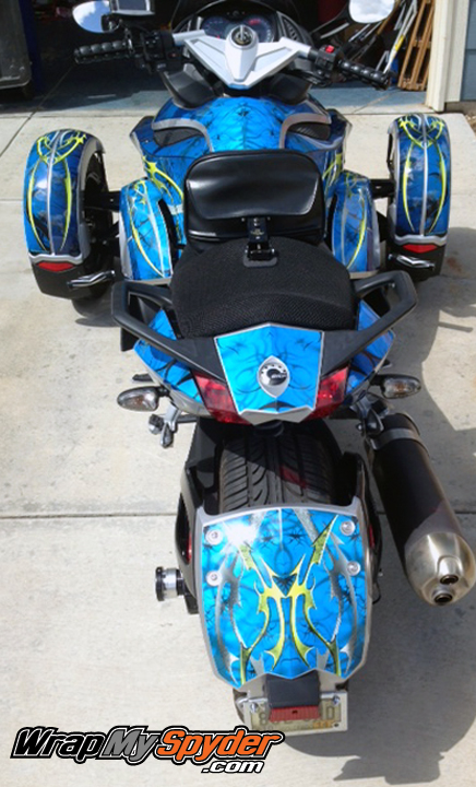 Dragons Tail RS Body Wrap For Can Am Spyder Motorcycle