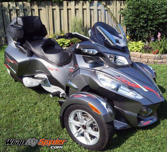 Cosmos Can Am Spyder Decal Kit For Can Am Spyder Motorcycles