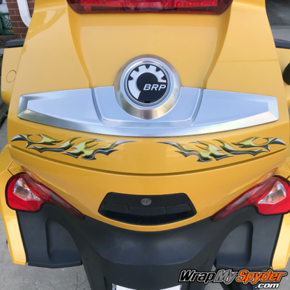 BRP Can-am Spyder graphics Si758-Yellow-Reflective