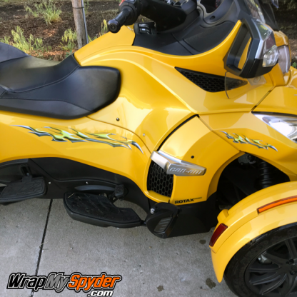 BRP Can-am Spyder RT graphics kit Si758-Yellow-Reflective