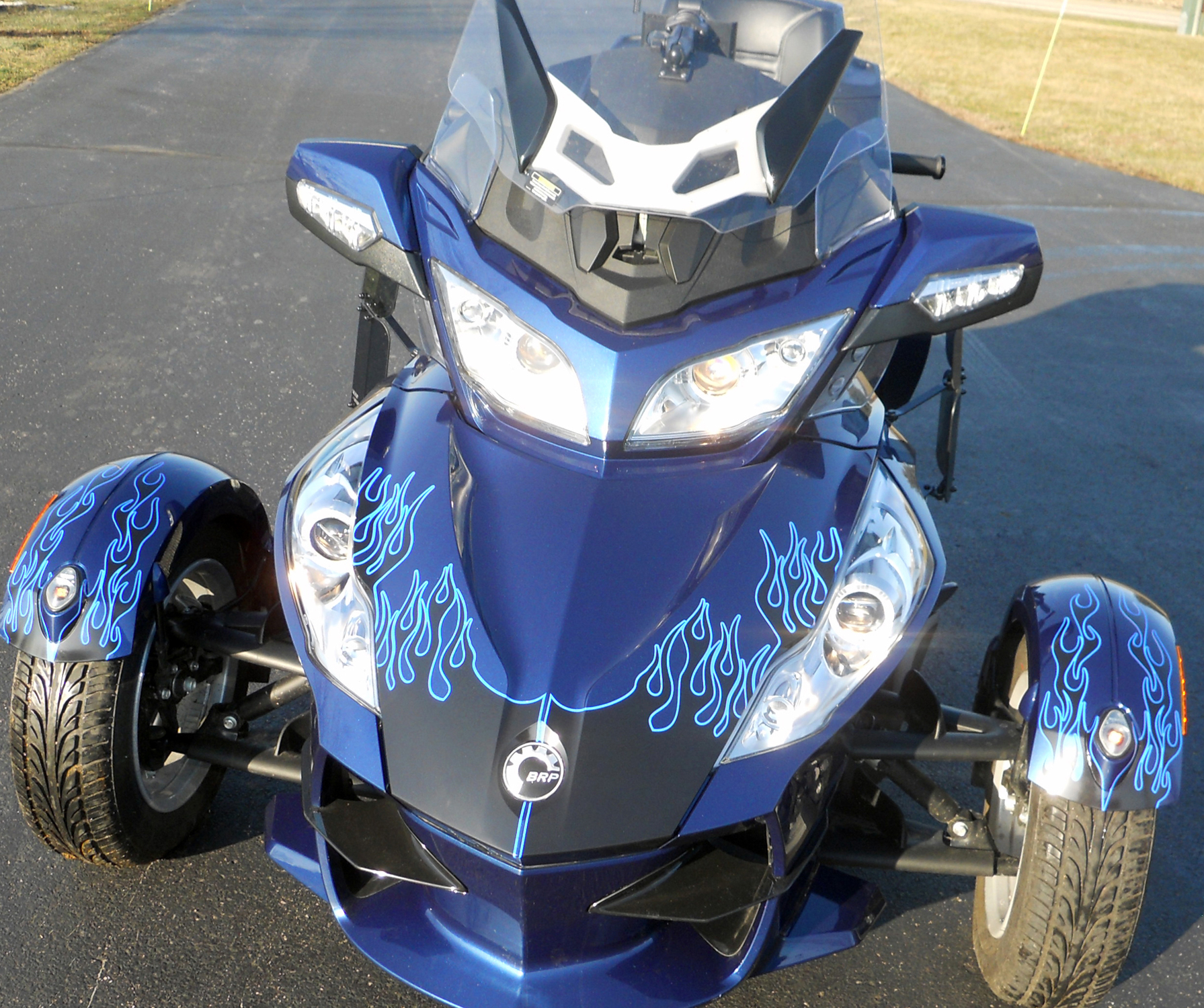 Best-Flame kit for can am spyder