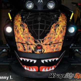 Venom flames along with our flying tiger shark face kit