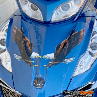 Can-am Spyder Eagles graphics kit high resolution Eagles look like custom paint without the cost