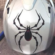 Small Bellerdine helmet decal