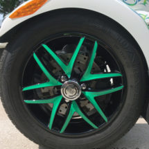 6 Spoke V wheel kit
