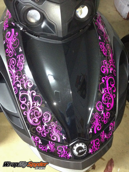 Can Am Spyder Decal Kits Archives WrapMySpydercom - Make your own decal kit