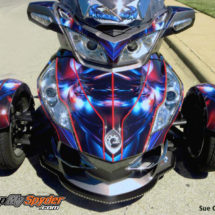 BRP Can am Spyder Hymanaius wrap