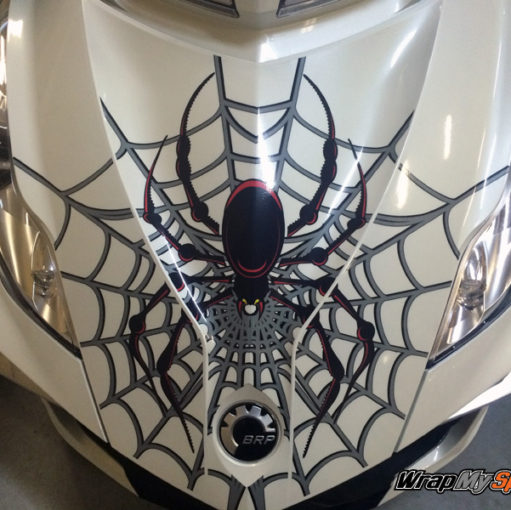 Woody Web graphics kit for Can am Spyder