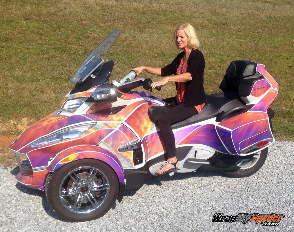 Can Am Spyder Wrap