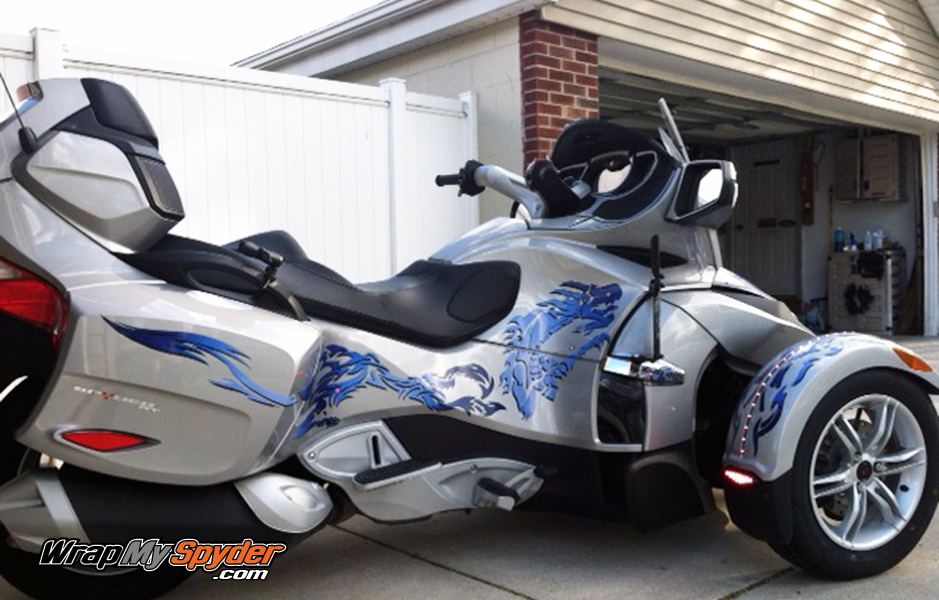 Can Am Spyder Custom Wrap Design Archives Wrapmyspyder Com
