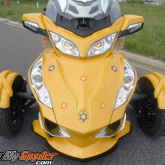 Happy Flowers decal kit for can am Spyder